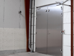 Hinged door, double leaf